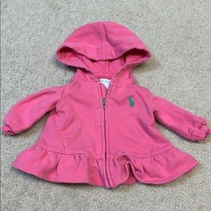 Ralph Lauren Matching Sets - Pink Ralph Lauren sweatsuit 3M